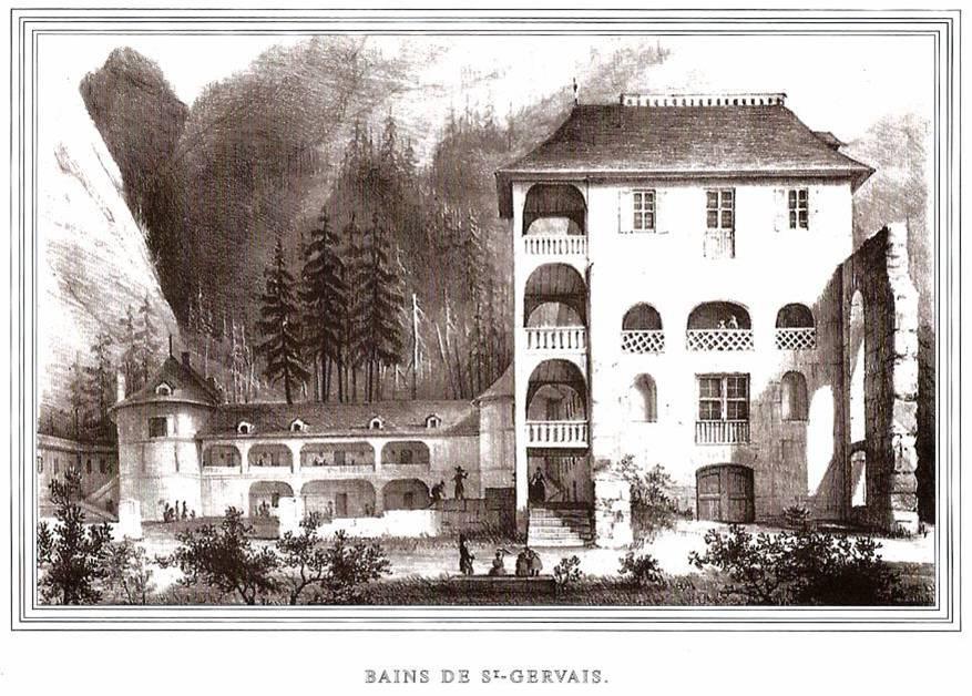 Le thermalisme aux portes de passy culture histoire et - Office du tourisme st gervais les bains ...