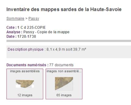 site_archives_depart_Haute_Savoie_mappe_Passy_images