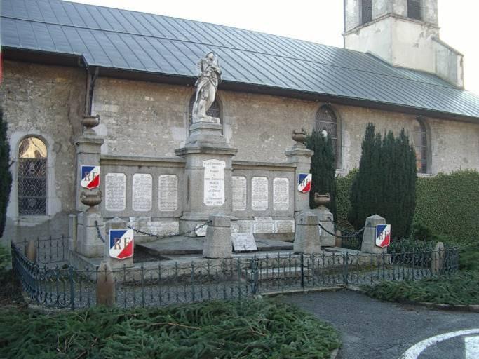 Monument aux morts de Passy (cliché Bernard Théry)