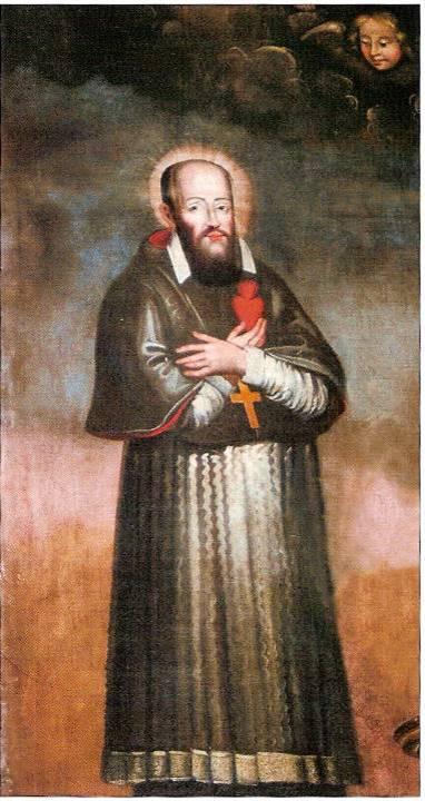 François de Sales (retable de l'église St-Pierre de Passy, Vatusium n° 3, p. 15)