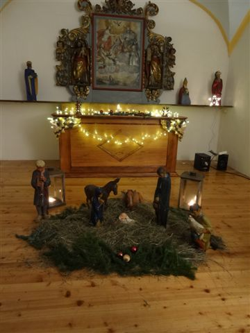 Noël 2012 à Bay : la crèche (doc. Les Amis de Bay)