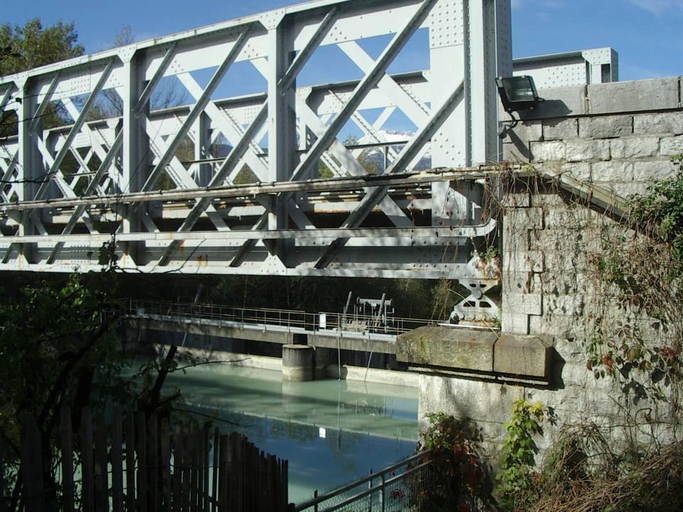 Le barrage de l'Abbaye à Passy (cliché Bernard Théry)