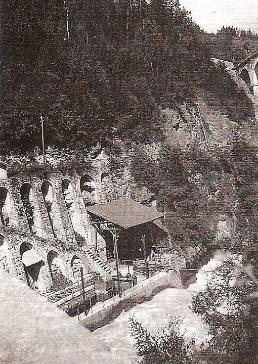 La prise d'eau du barrage des Chavants, hier (J.P. Gide, op. cit. p. 82)