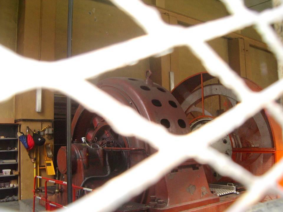 La plus vieille machine du département de Haute-Savoie.