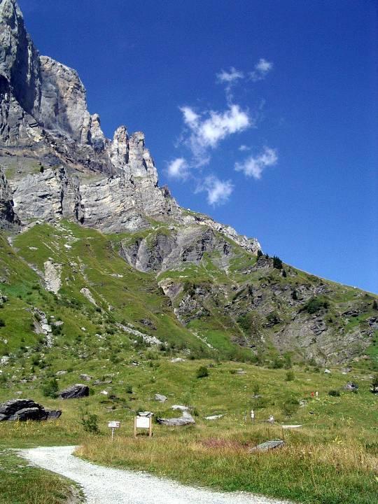 Randonnée, l'été à Passy, aux Ayères (cliché Bernard Théry)