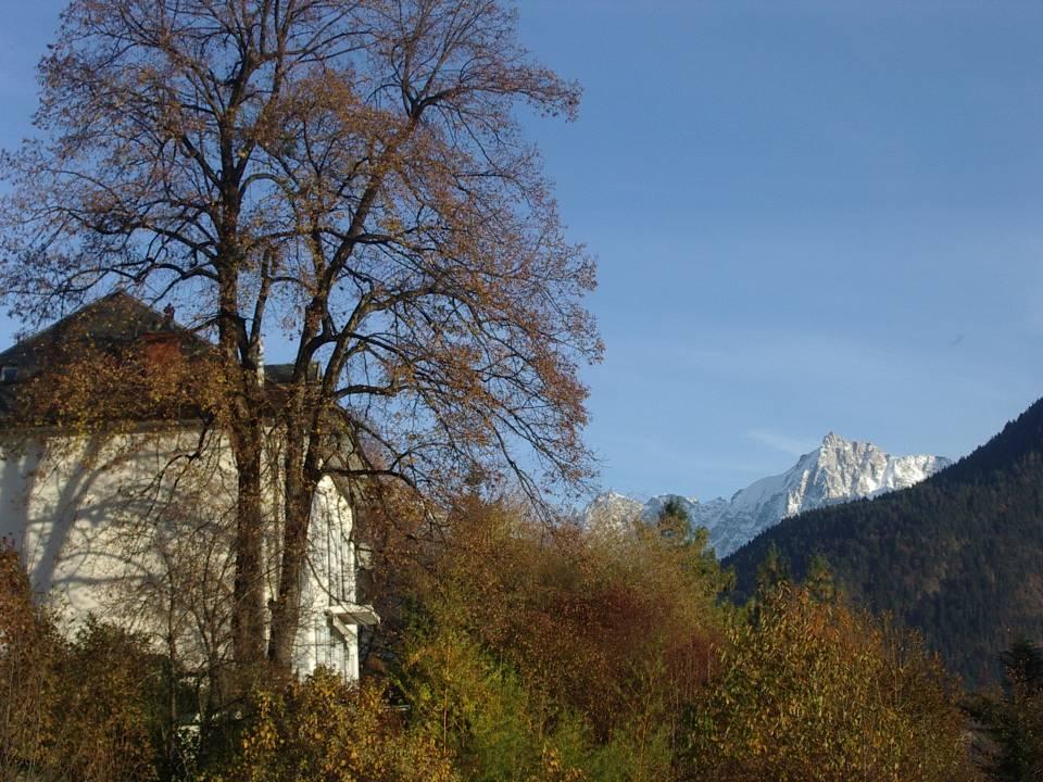 Le Perrey en automne, à Passy (cliché Bernard Théry, 2012)