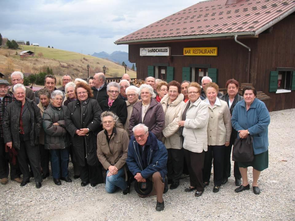 Beignets de pommes de terre au Plateau de Solaison en novembre 2011 (Doc. Club de l'Amitié de Passy)