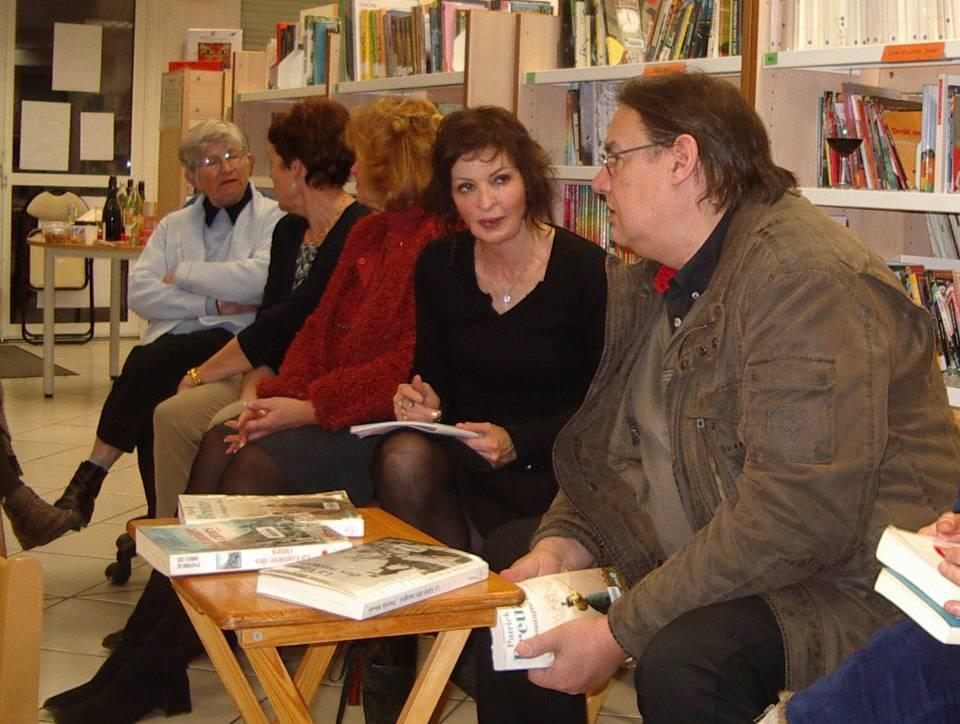 Patrick Breuzé, le 13 mars 2013, à la Bibliothèque de Passy (cliché Bernard Théry)