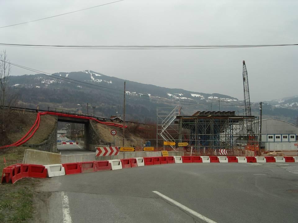 Dernière image  de l'ancien pont SNCF de l'Aérodrome, 2 avril 2013 (cliché Bernard Théry)