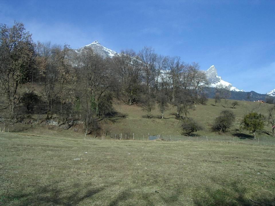 Le site gallo-romain des Outards, à Passy (cliché Bernard Théry)