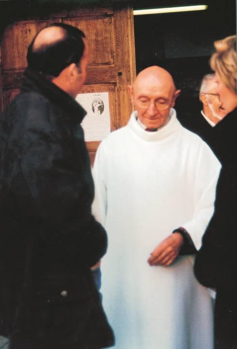Le père Baud à son départ en retraite (Vatusium n° 3, p. 29).