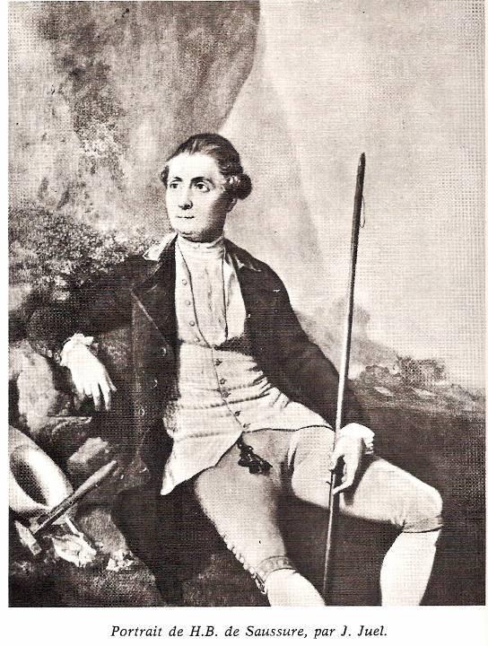 Saussure en 1778 par le portraitiste Jens Juel (1745-1802)