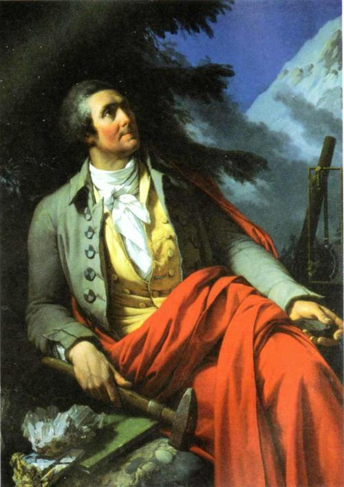 H.-B. de Saussure par Saint-Ours en 1796
