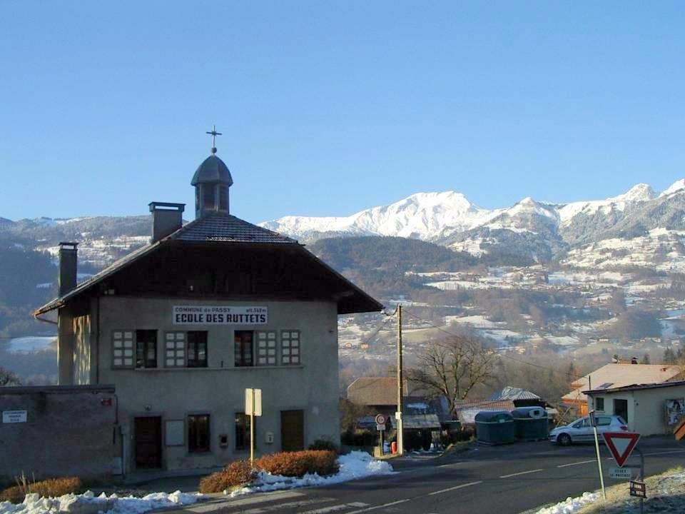L'école des Ruttets, façade nord (cliché Bernard Théry)