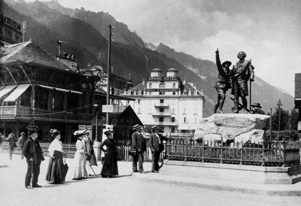 « H. B. de Saussure, Chamonix reconnaissant » (site amolenuvolette.it)