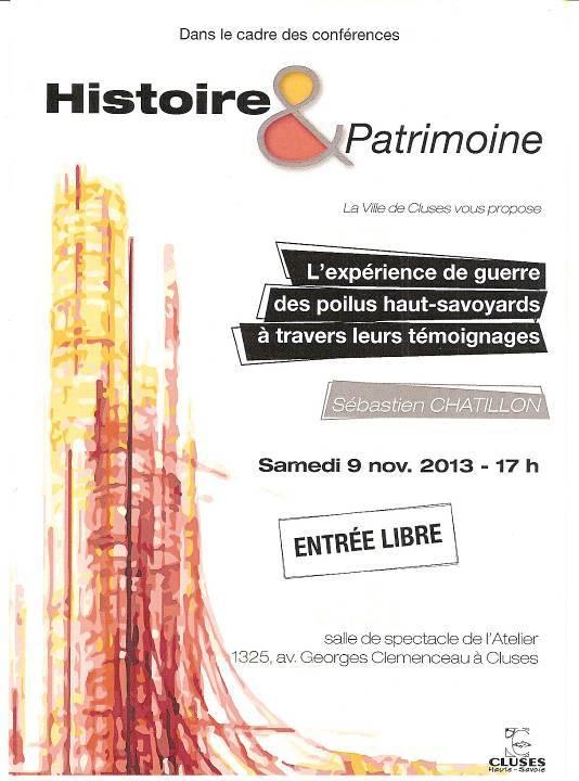 Cluses_Histoire_et_Patrimoine_2013_11_09_Poilus_web