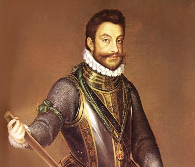 Le duc de Savoie Emmanuel-Philibert (1528-1580) peint par Pantoja de la Cruz à l'Escorial