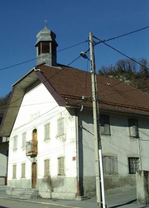 Ecole de Chedde le Haut, le bâtiment Bosson (cliché Bernard Théry)