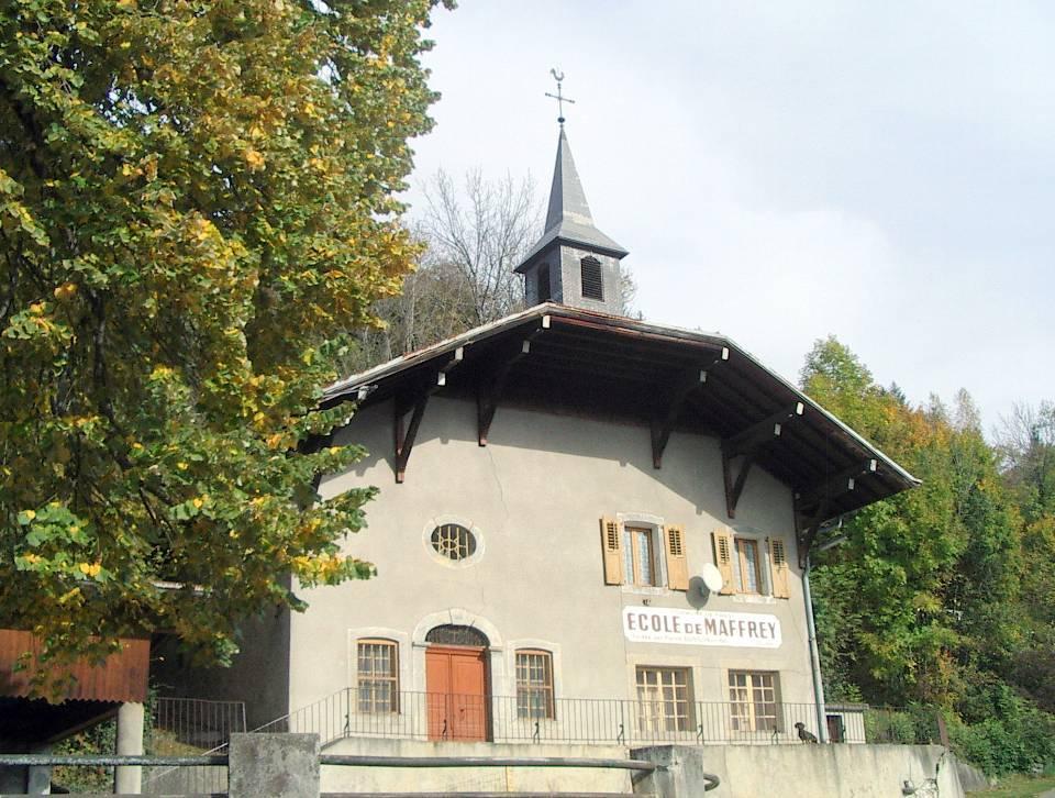 La chapelle-école de Maffrey (cliché Bernard Théry)