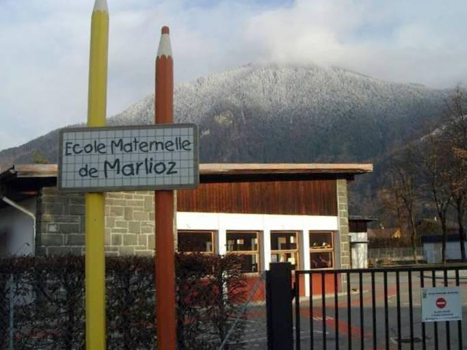 L'école maternelle de Marlioz (cliché Bernard Théry)