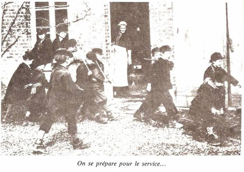 Exercice militaire (J. Joly, op. cit., p. 64)