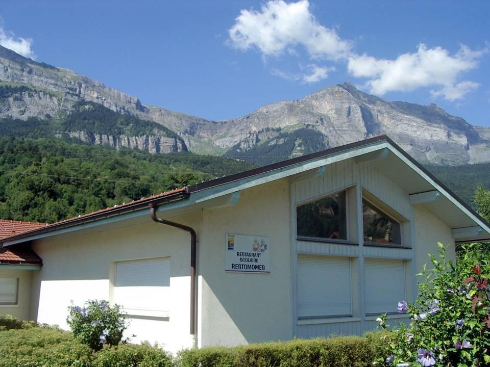 Le restaurant scolaire de la Jonction, Passy (cliché Bernard Théry)