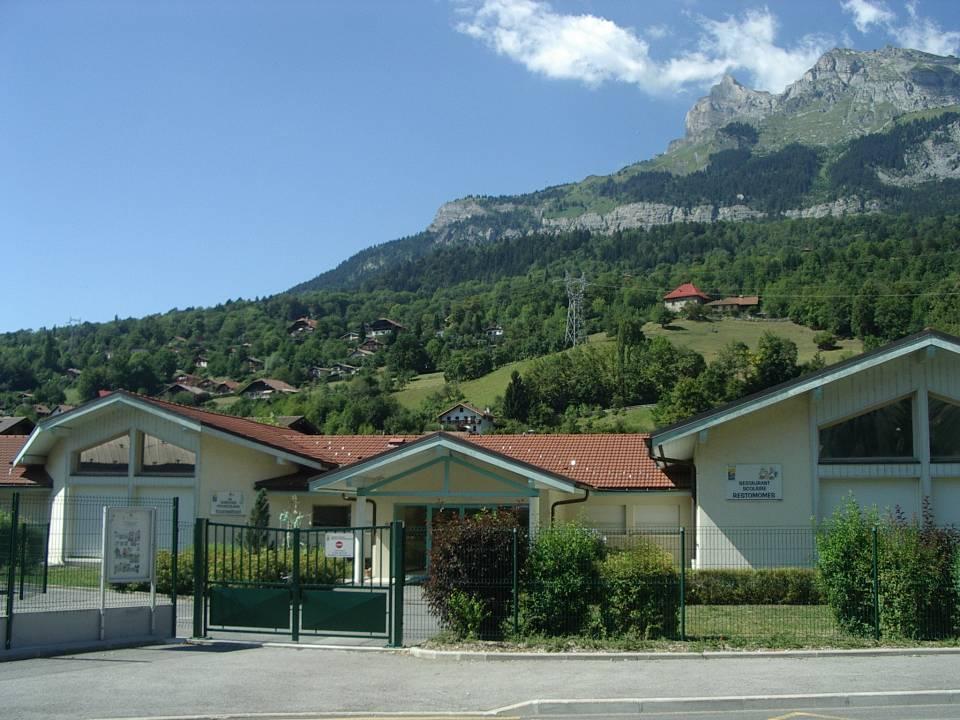 Le jardin d'enfants et la restauration du groupe scolaire de la Jonction, Passy (cliché Bernard Théry)