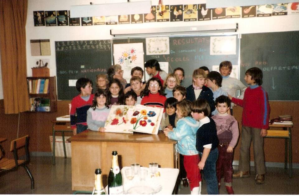 Prix des écoles fleuries remporté par les élèves de Joux.