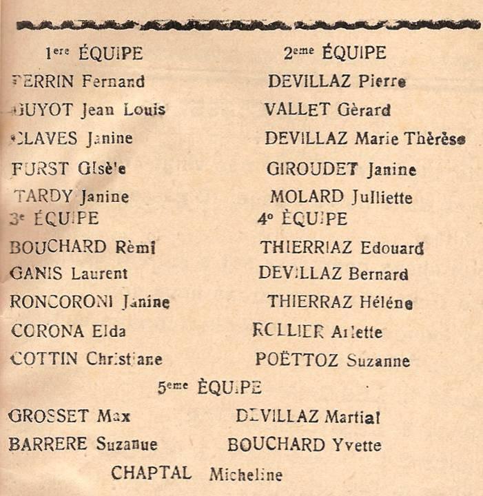 Journal scolaire de Passy « Face au Mont-Blanc », octobre 1945, p.1