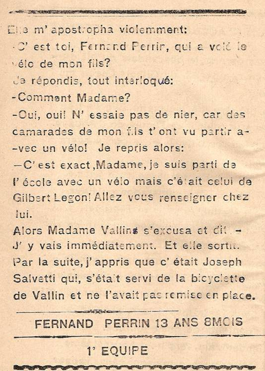 Journal scolaire de Passy « Face au Mont-Blanc », octobre 1945, p.10