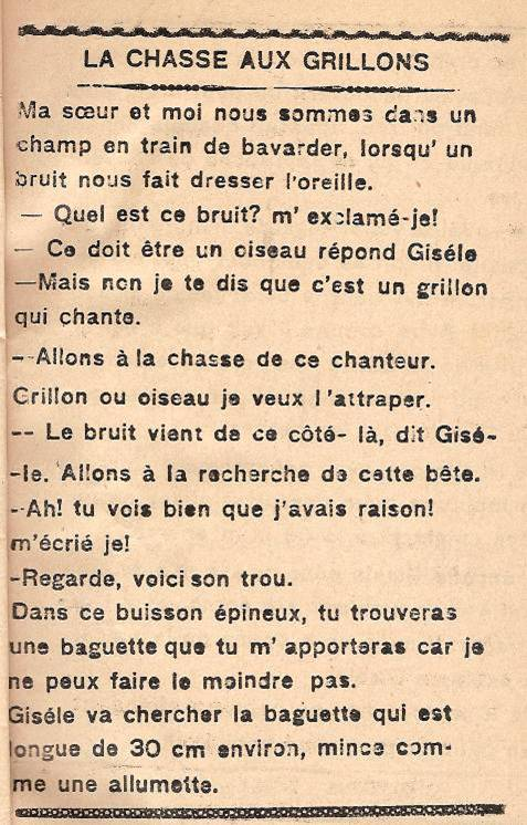 Journal scolaire de Passy « Face au Mont-Blanc », octobre 1945, p.5