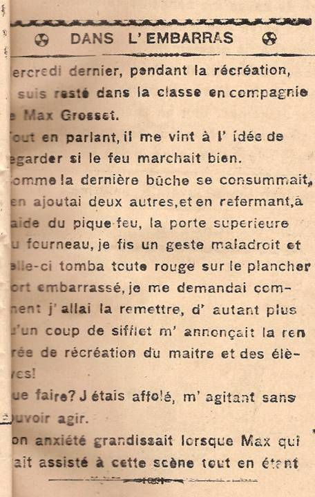 Journal scolaire de Passy « Face au Mont-Blanc », octobre 1945, p.7