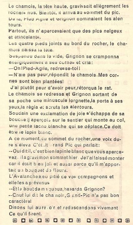 Conte « Trois petits lapins recherchent leur frère », école de Passy, 1939-42, p. 21 (suite 2)