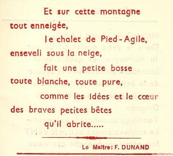 Conte « Trois petits lapins recherchent leur frère », école de Passy, 1939-42, p. 31, épilogue (fin)