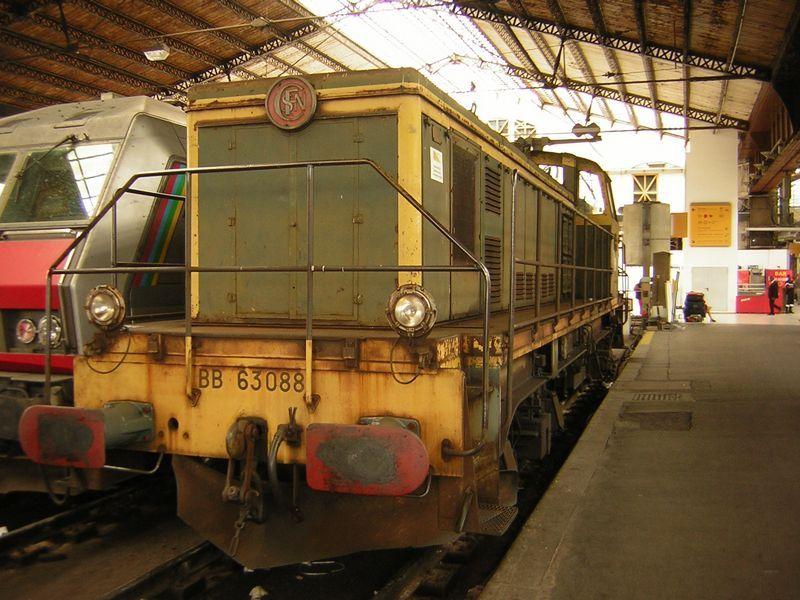 Une locomotive BB 63088 (site TrainsFrançais)