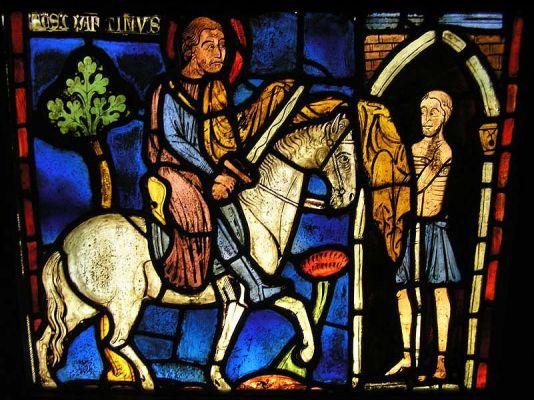 Art du vitrail au Moyen-âge, hôtel de Cluny (site galerie.roi-president.com)