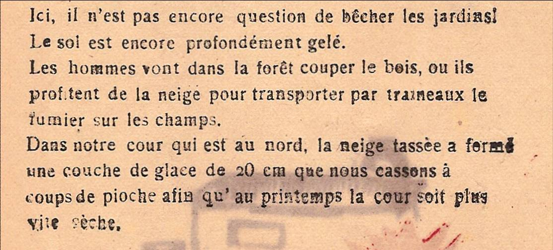 Journal scolaire de Passy, « Face au Mont-Blanc », p. 14-15