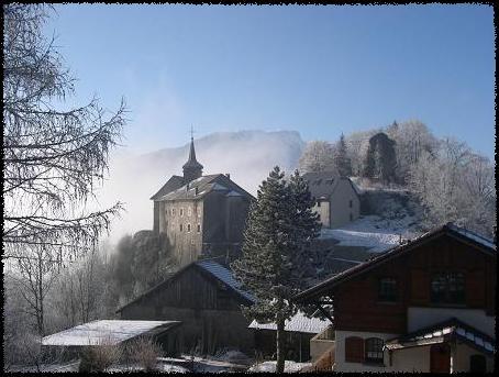 Château de Chatillon-sur-Cluses (site cabaret.over-blog).