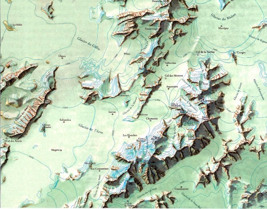 Le glacier de l'Arve de Cluses à Chamonix (Sylvain Coutterand, Vatusium n° 6, p. 16)