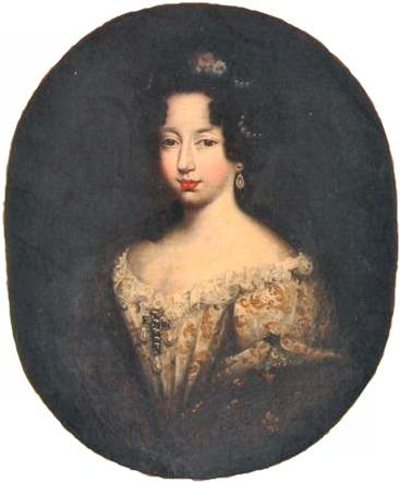 Anne Marie d'Orléans, par Ferdinand Elle (1684)