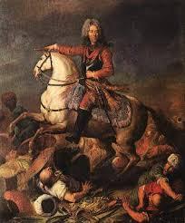 Prince Eugène de Savoie en guerre contre les Turcs, par Jacob van Schuppen, Galleria Sabauda, Turin (site histoire europe)