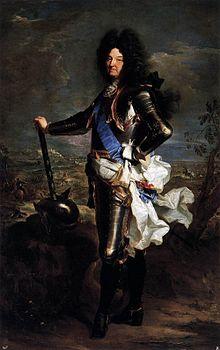 Louis le Grand, par Hyacinthe Rigaud