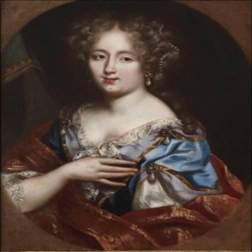 Olympe Mancini, mère d'Eugène de Savoie, atelier de Mignard