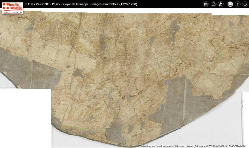 Mappe sarde de Passy, image 1/12