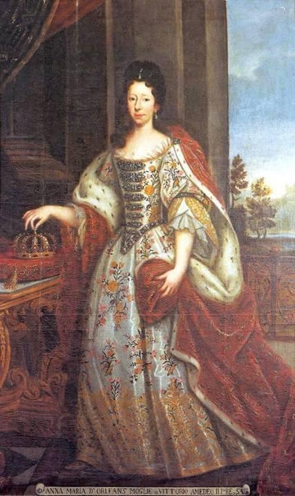 La reine Anne Maria d'Orléans, 1669-1728 (Source Internet)