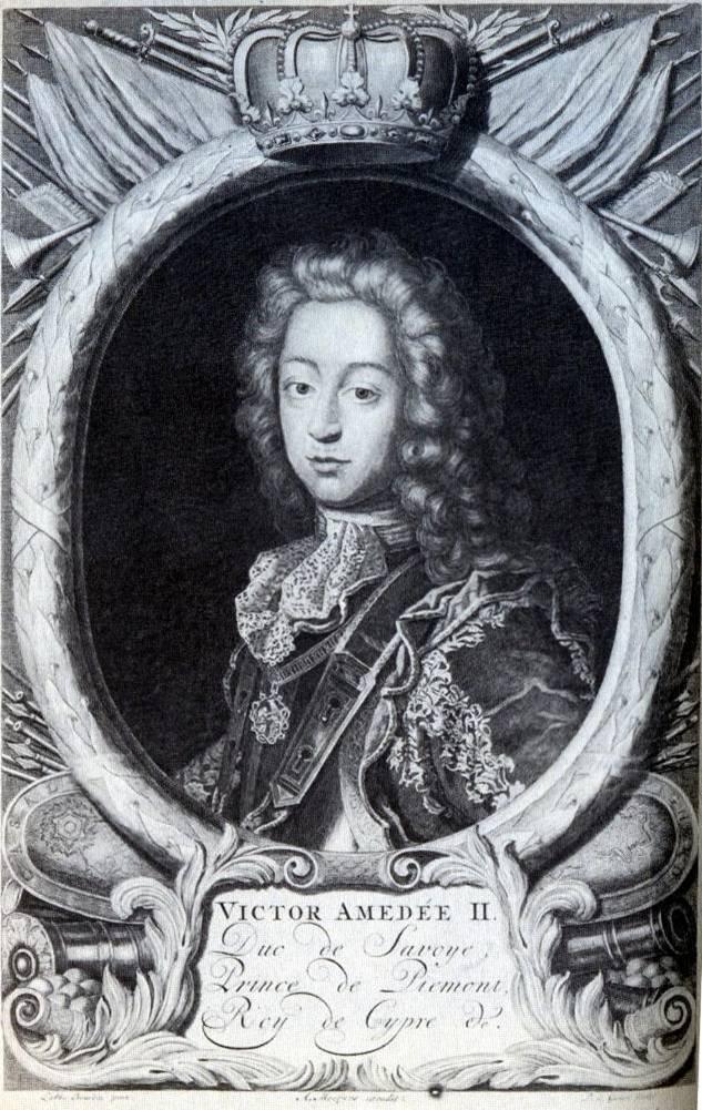 Victor-Amédée II, Duc de Savoye, Prince de Piémont, Roy de Cypre (source : commons.wikipedia)
