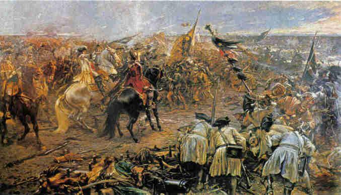 Bataille de Zenta (Eisenhut Ferenc képe)