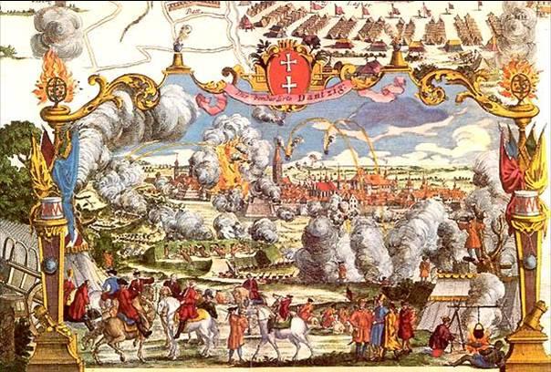 Siège de Dantzig (actuelle Gdansk), 1734