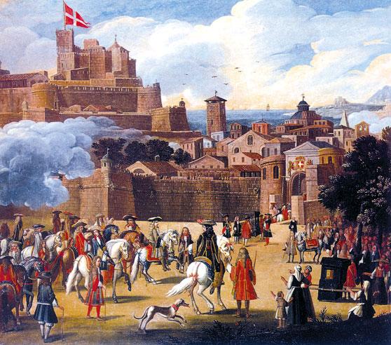 Arrivée de Victor-Amédée II à Nice
