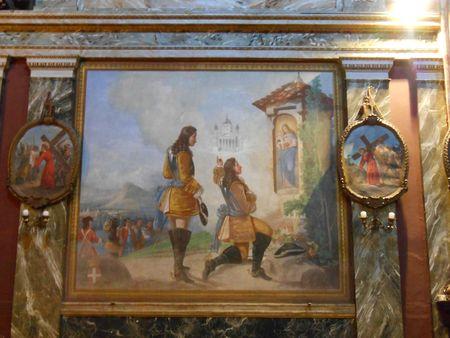 Vœu de Victor-Amédée II à Superga, église Santa Cristin